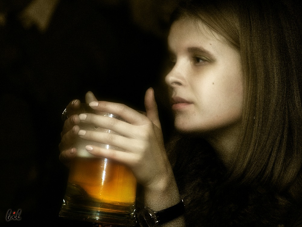 Любительница пива